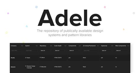 uxpin pattern library introducing adele the largest open source repository of