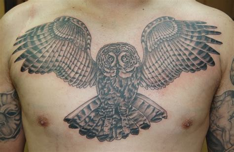 eagle river tattoo owl