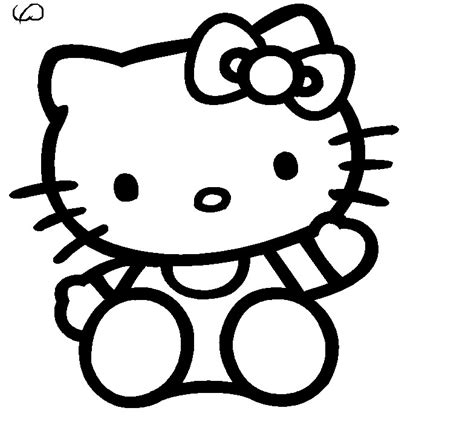 hello kitty drawings coloring pages hello kitty drawings az coloring pages