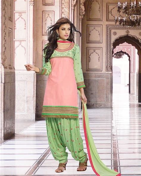 pink combination 16 best images about patiala suits on pinterest blue and