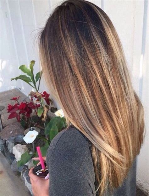 hairstyles for long straight hair with highlights 29 best balayage hairstyles for straight hair for 2017