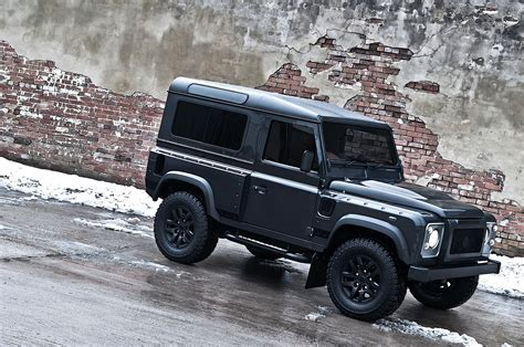 kahn land rover kahn land rover defender military edition with wide body