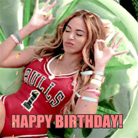 Beyonce Birthday Meme - happy birthday beyonce gif by chuber channel find