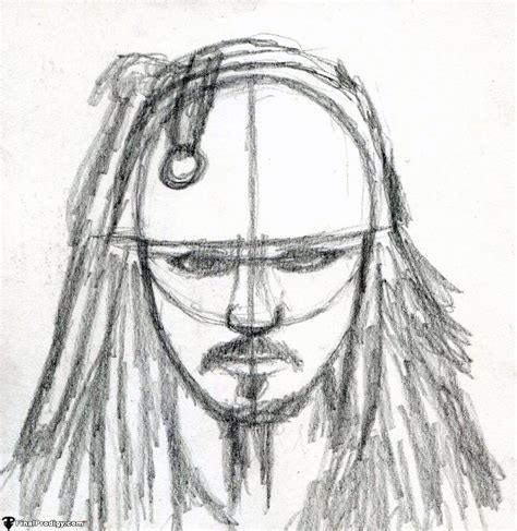 how to draw jack sparrow easy step by step characters pop culture how to draw captain jack sparrow finalprodigy com