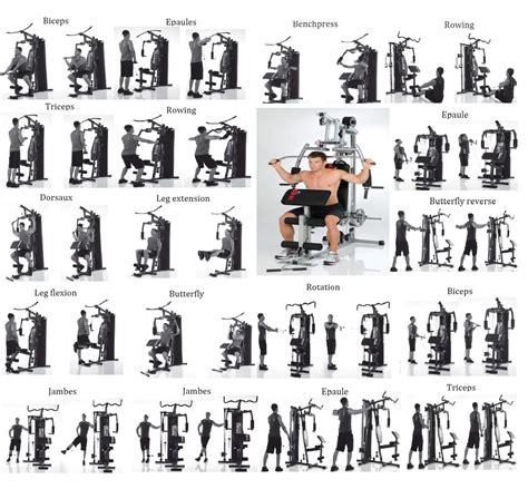 exercice sur banc de musculation flexoring power barre de traction easy