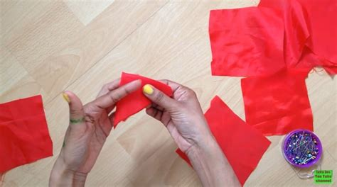 How To Make Floor Mat From Clothes by How To Make Floor Mat Using Cloth Simple Craft Ideas