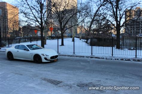 Maserati Of New York by Maserati Granturismo Spotted In Nyc New York On 02 20 2015
