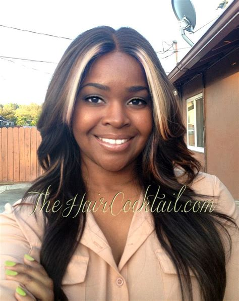 highlights for front sides only for dark brown hair 214 best images about weave sew ins hairstyles on