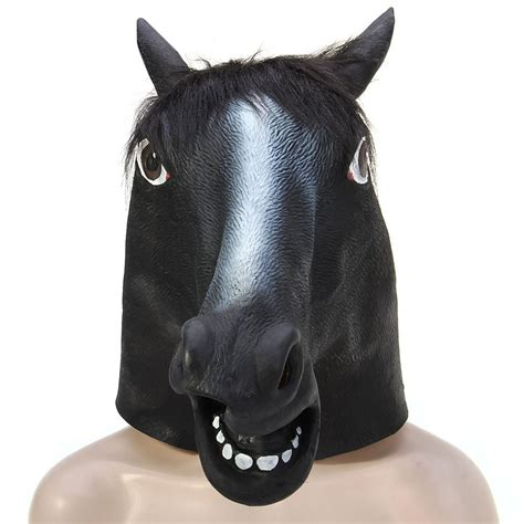 lets get off our high horses full time travel isnt the latest mask high imitation horse head full face silicone