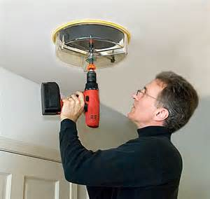 Cutting In A Ceiling by Cutting A In Your Plaster Ceiling For Recessed