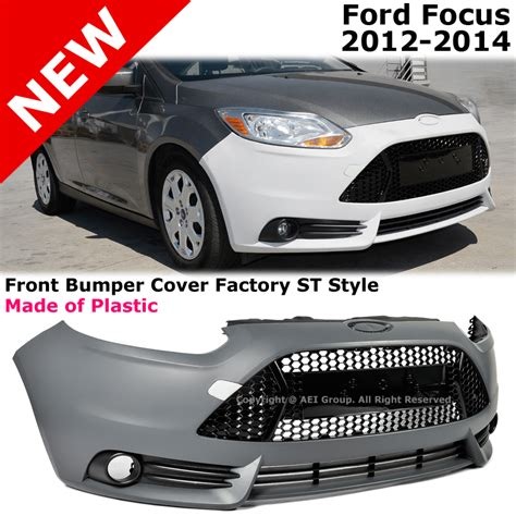 ford focus   st style conversion front bumper