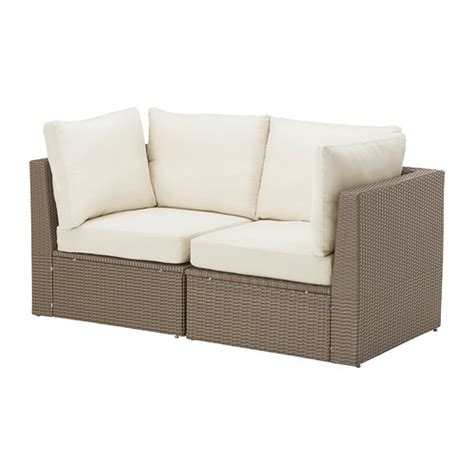patio furniture loveseat arholma loveseat outdoor ikea