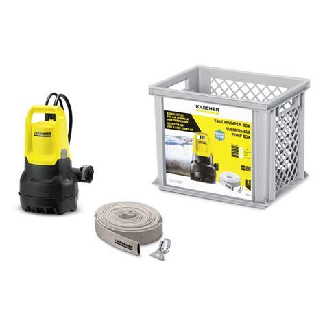 pompe d 233 vacuation eau charg 233 e dompelpomp box sp 5 k 228 rcher