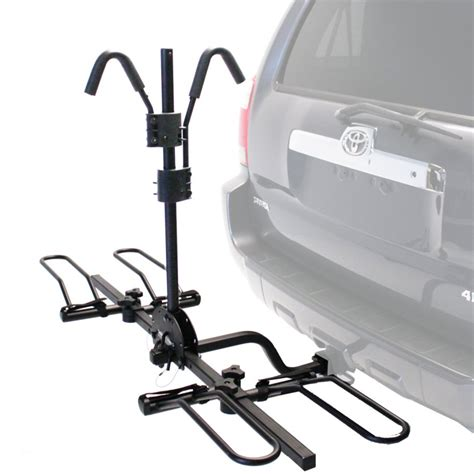 Bicycle Hitch Rack by Trail Rider 2 Bike Hitch Mounted Platform