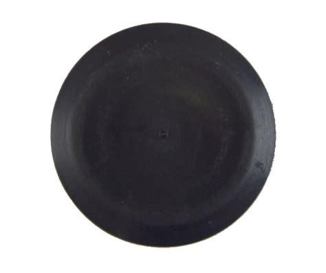 gm  capplug black rubber fits mm hole mm wide
