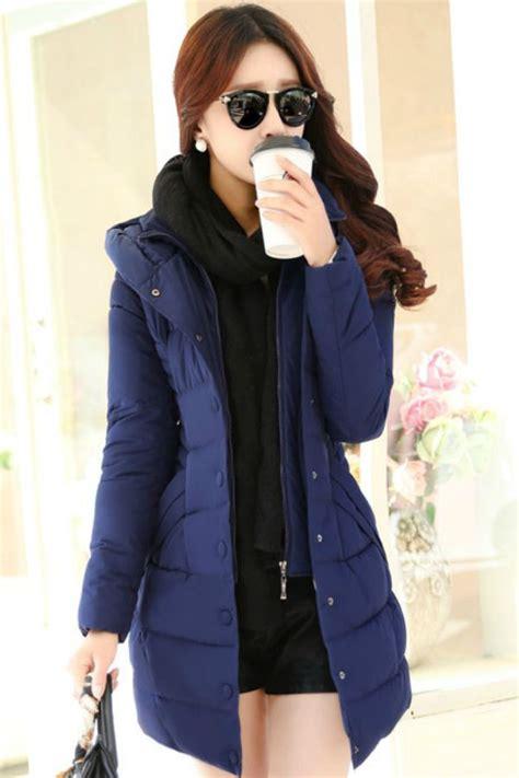 Baju Pakaian Wanita Muslim Fashion Jaket Hoodie Navy Adidas jaket musim dingin korea navy padded jacket