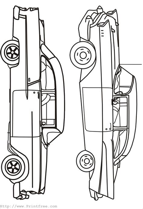17 Car Coloring Pages Free Printable Word Pdf Png Jpeg Eps Format Download Free Car Outline Templates