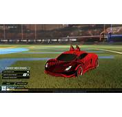 Rocket League II Crimson Red Endo  20xx BM Decal With The