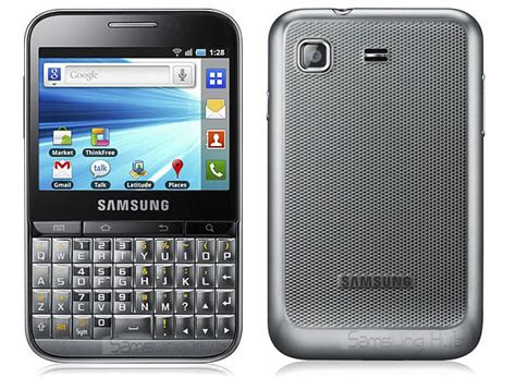 Hp Samsung Android Keypad Samsung Galaxy Pro Combines 2 8 Inch Touchscreen With A Portrait Qwerty Keyboard Modest Specs