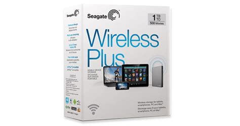 Seagate Wireless Plus Usb 3 0 1tb wireless plus mobile storage to your media seagate