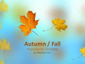 fall powerpoint templates autumn fall powerpoint template slidesbase