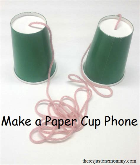 How To Make A Paper Cup - make a paper cup phone