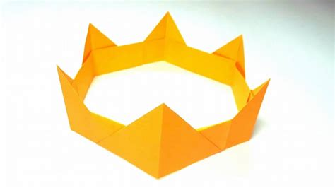 Papercraft Crown - paper crown origami images craft decoration ideas