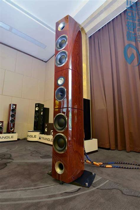 Speaker Acr Grand triangle audio magellan grand concert speaker audiophile paul bratu audio