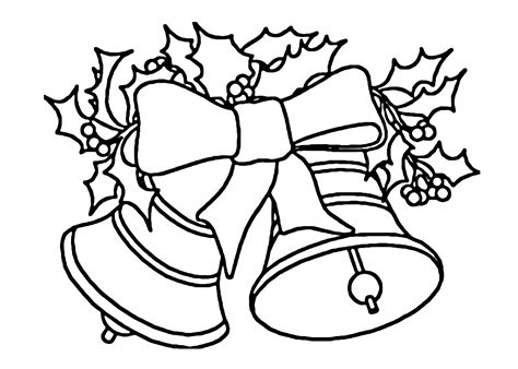 belle christmas coloring pages geography blog christmas bell coloring page