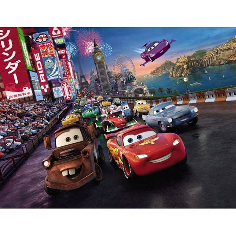 disney cars bedroom decor new disney cars race large photo wall mural room decor