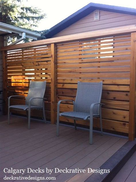 13 best images about deck railing and privacy screens on