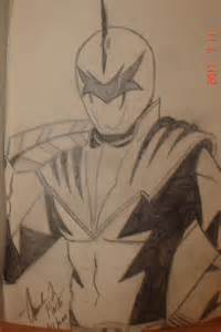draw white ranger