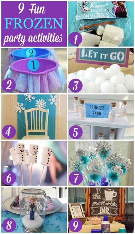 party themes weird 9 fun frozen party activities catch my party