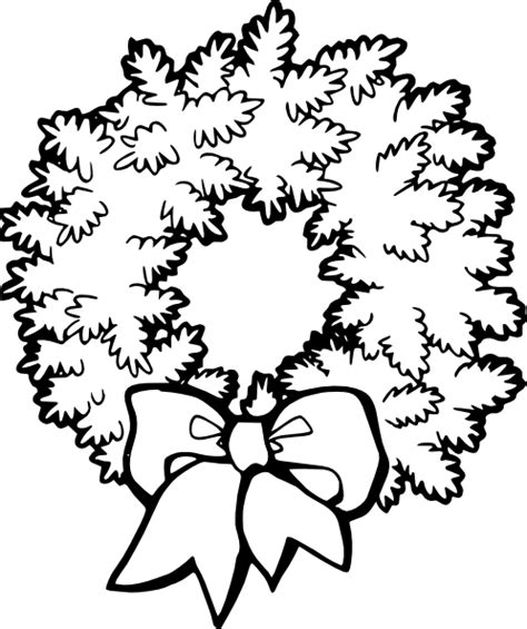 christmas decorations coloring page printablefree coloring