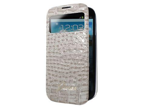 Cover Samsung Galaxy S4 Mini guess glossy croco s view cover samsung galaxy s4 mini