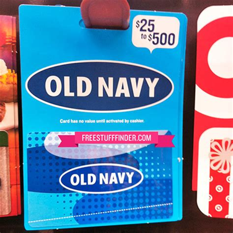 Can Gap Gift Cards Be Used At Old Navy - image gallery old navy gift card