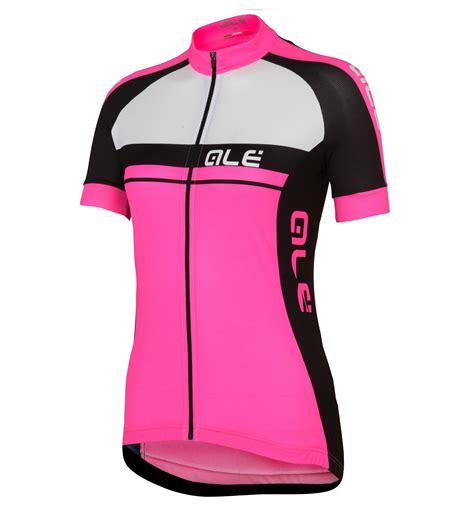 Jersey Pink 2016 ale plus pink cycling jersey and bib shorts set