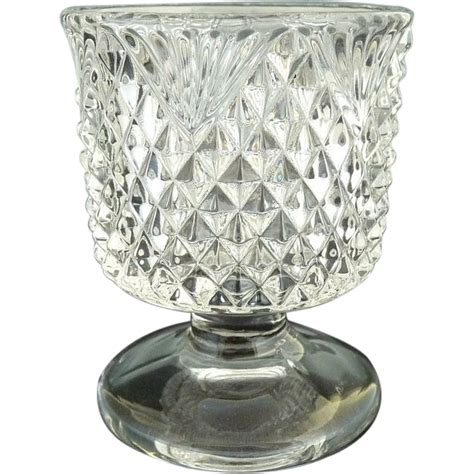 Antique Glass antique glass toothpick holder fostoria 444 czarina