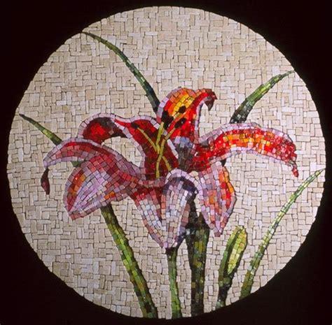 mosaic lily pattern 1028 best images about mosaic on pinterest mosaics