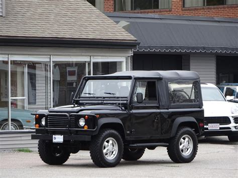 land rover defender convertible 1995 land rover defender 90 convertible copley motorcars