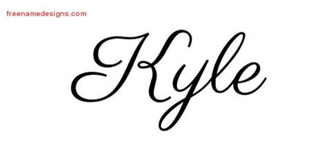 tattoo name kyle pin writing tattoo kyle by john on pinterest