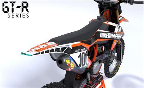 customize motocross ktm gtr semi custom motocross graphics bikegraphix