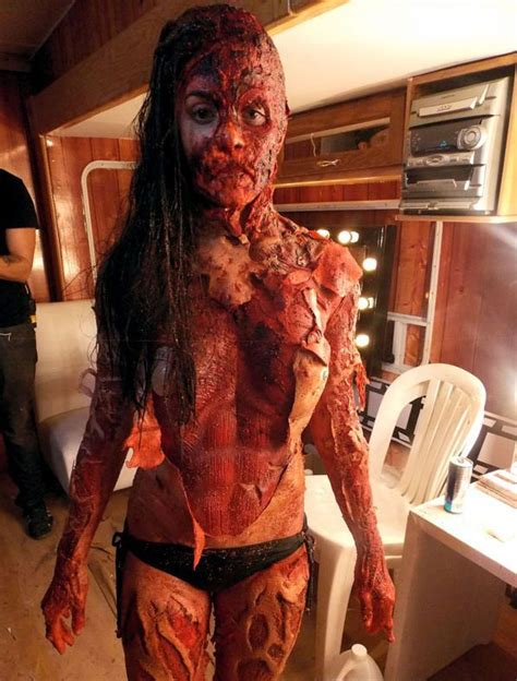 cabin fever 3 great make up from cabin fever patient zero 2014