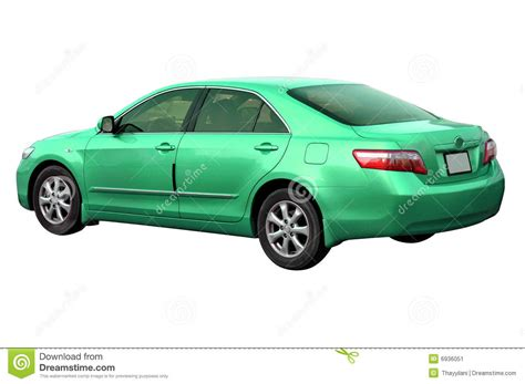 Greens Toyota Green Toyota Camry 2008 Stock Image Image 6936051