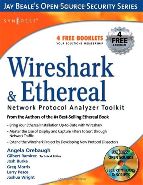wireshark tutorial book syngress publishing wireshark ethereal network protocol