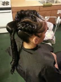 how to do goddess braids on a person with thin hair 3d goddess braids with fishtail ponytail however i would
