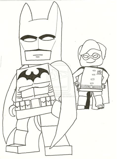 Lego Batman 2 Coloring Pages lego batman by awesomeartfreak on deviantart
