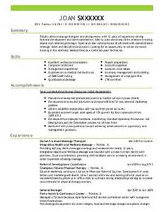 therapy resume the best letter sle