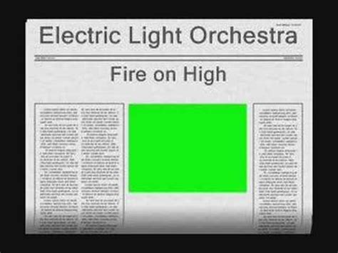 electric light orchestra youtube electric light orchestra fire on high youtube