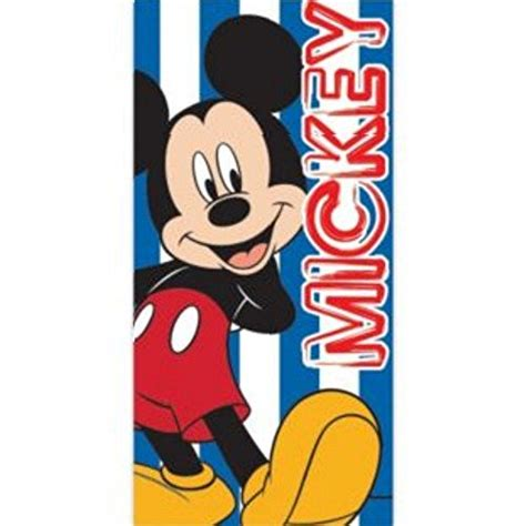 Blus Mickey Import disney mickey mouse childrens boys printed towel 28in x import it all